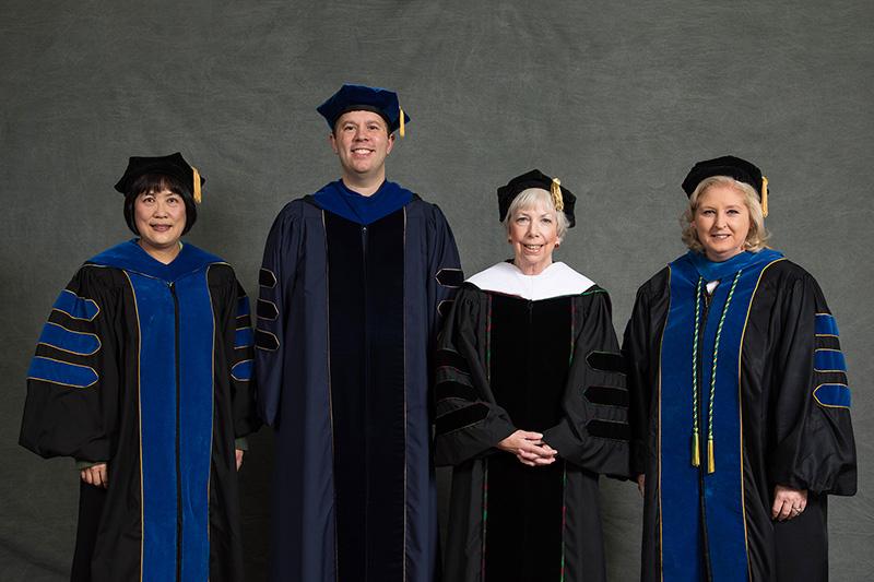 Drs. Hong Yao, Brent Fedorko, Elizabeth Curtin, and Diane Davis.