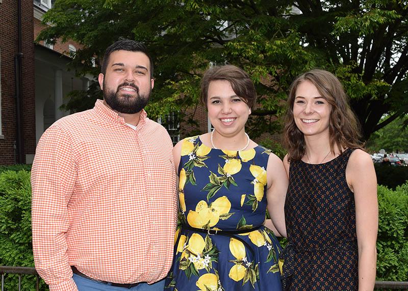 Matthew Jones, Katherine Potvin, Hannah Ennerfelt
