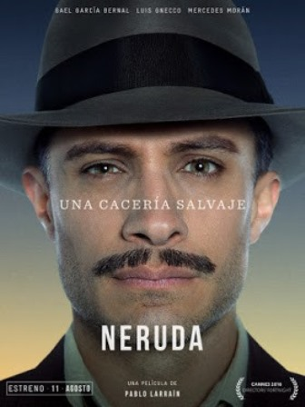'Neruda' movie poster