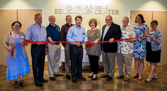 Henson Education Center rededication