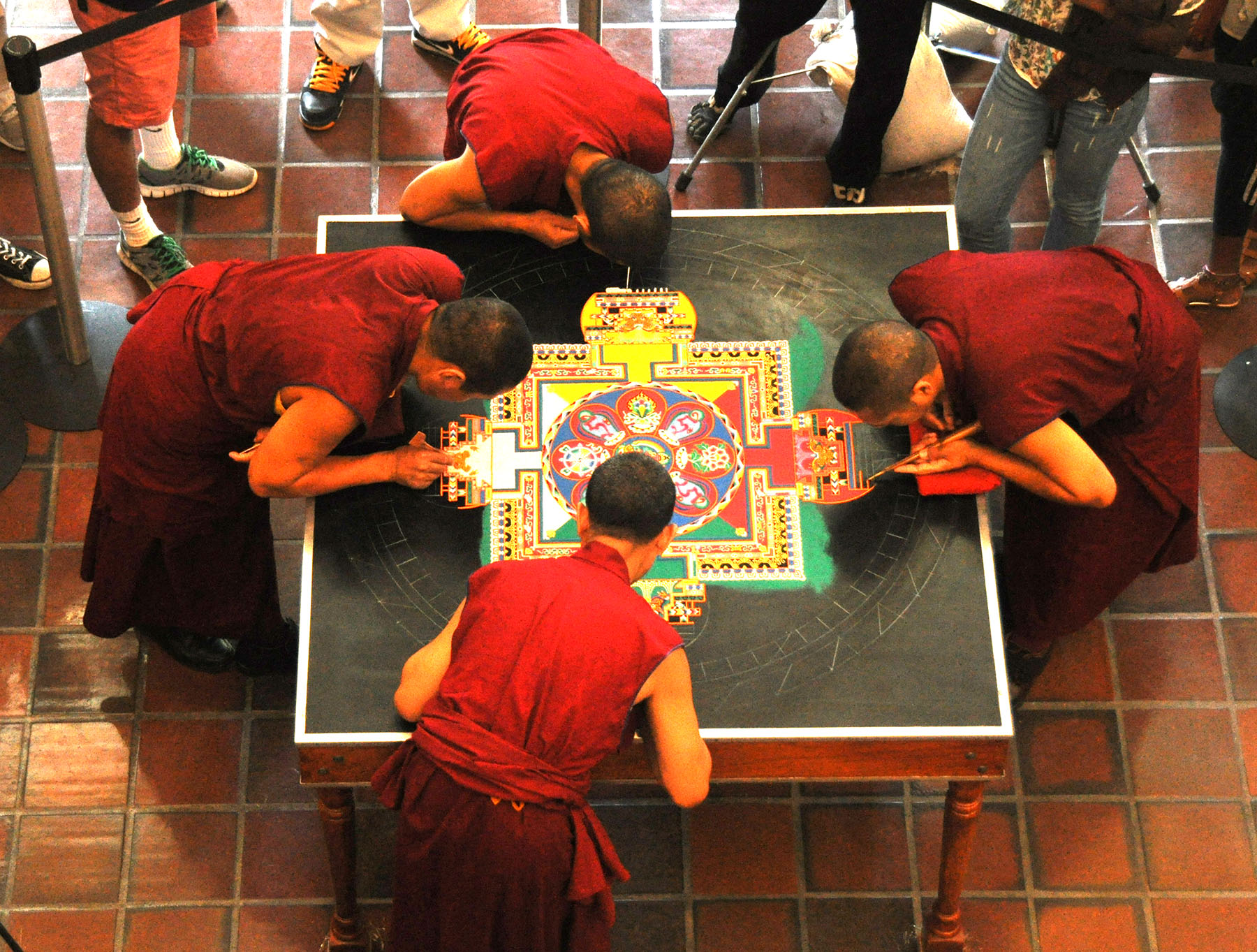 Tibetan Monks at SU