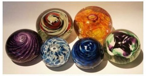 Glass Blowing Paperweight