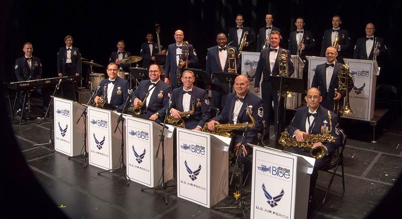 U.S. Air Force Rhythm in Blue band