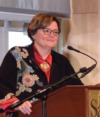 SU President Janet Dudley-Eshbach