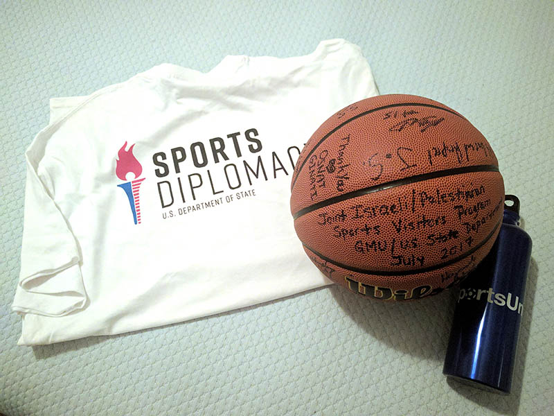 Sports DIplomacy Ball and Shirt