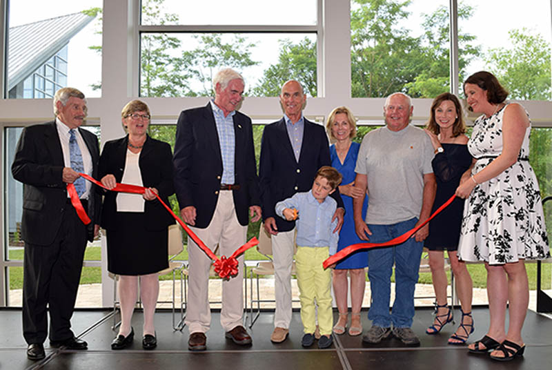 Luetkemery and Mullan Legacy Center Ribbon Cutting