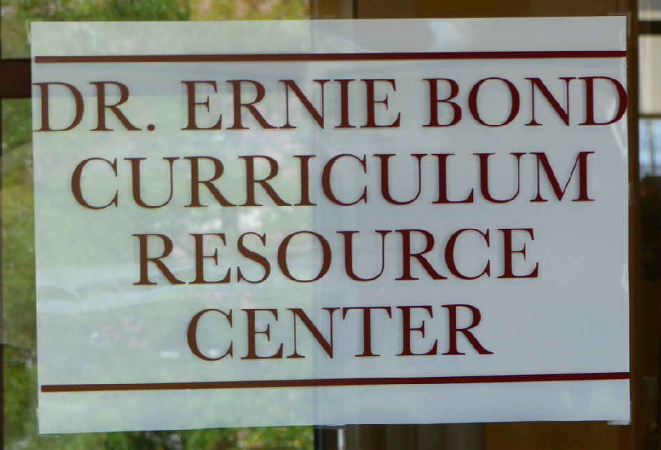 Dr. Ernie Bond Curriculum Resource Center
