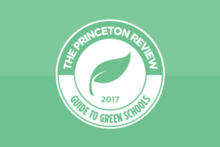 Princeton Review Green Schools logo
