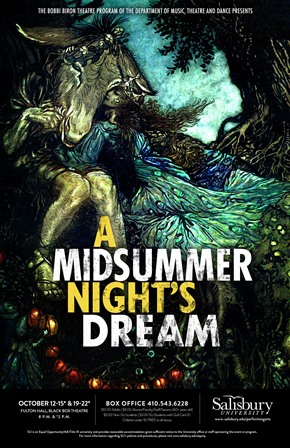 'A Midsummer Night's Dream' poster