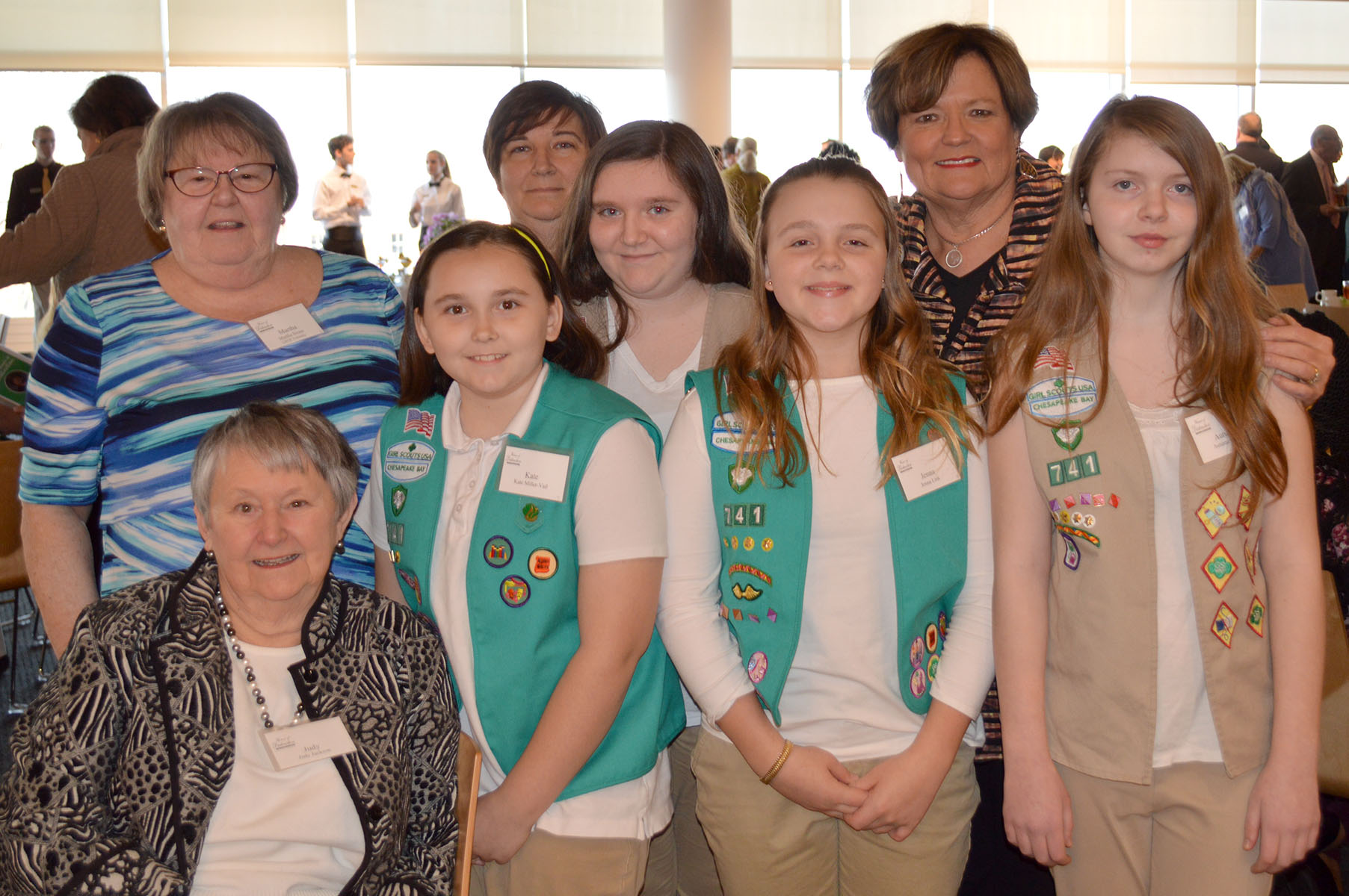 Girl Scouts of the Chesapeake Bay Lower Shore Woman of Distinction dinner