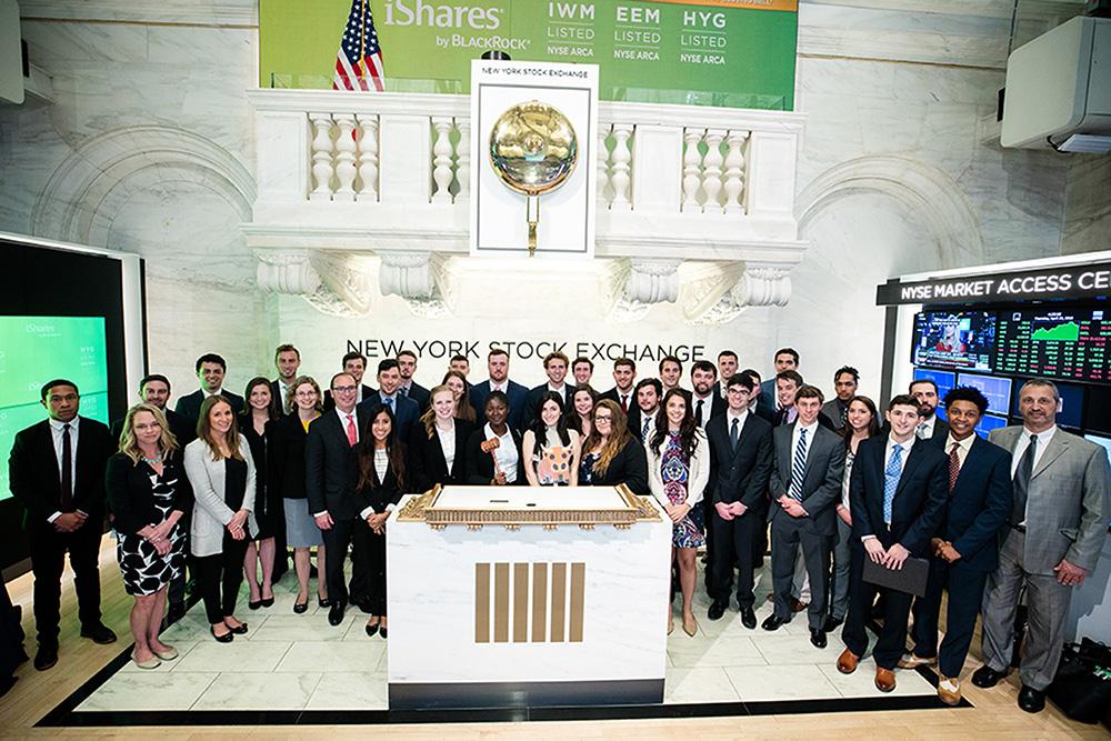 FMA members at New York Stock Exchange