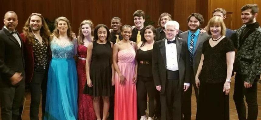 SU Music Students at NATS
