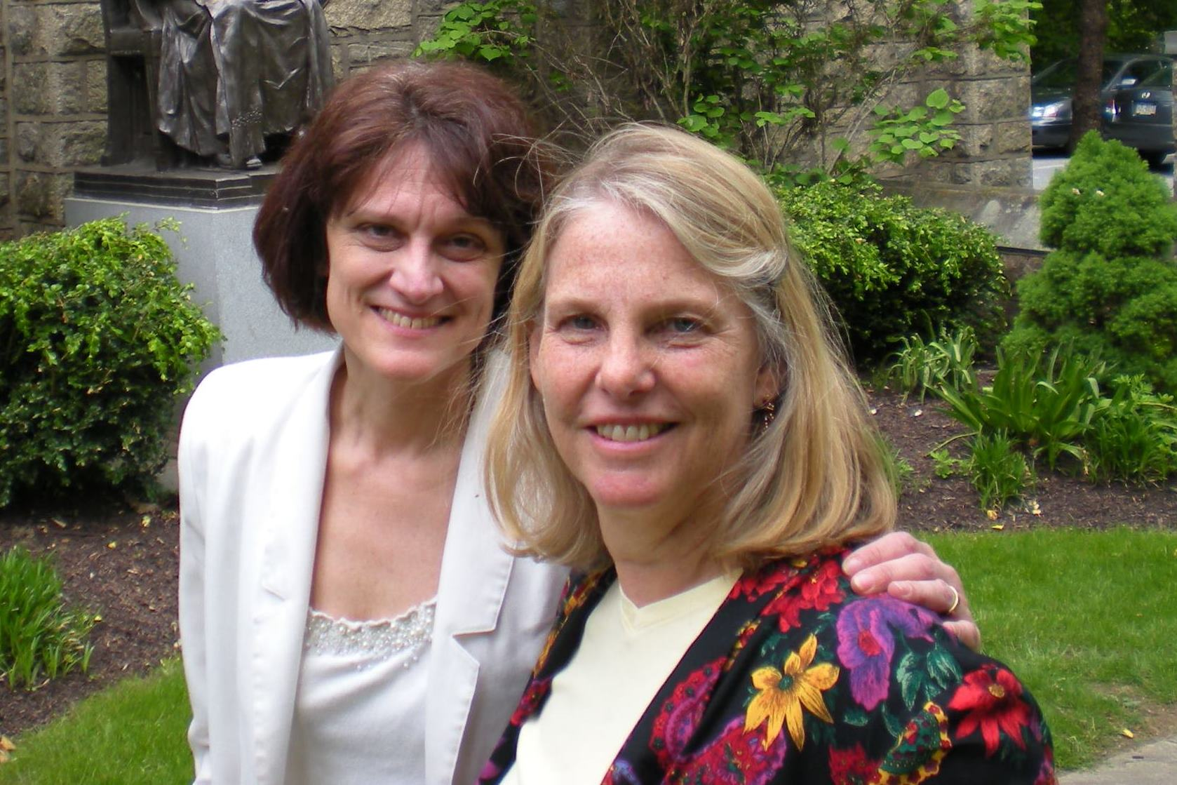 Janet Tebbel and Lisa Lonie