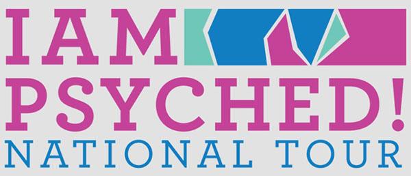 I Am Psyched Logo