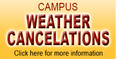 Campus Weather Cancelations