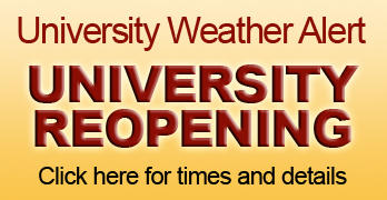 SU Reopens 10 a.m. Friday, February 27