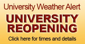 University Weather Alert