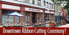Downtown Ribbon-Cutting Ceremony