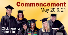 Salisbury University Commencement May 20 and May 21