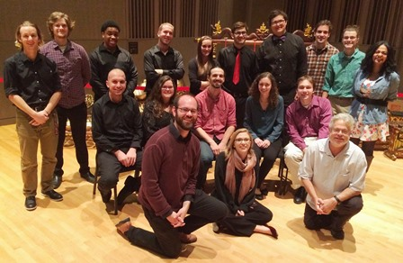 Salisbury University Percussion Ensemble