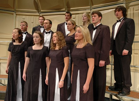 he Salisbury and University chorales