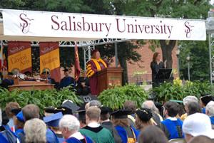 Salisbury University Fall Convocation